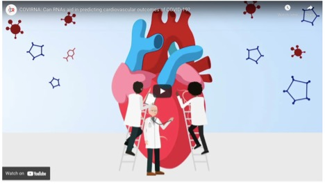 COVIRNA video: Can RNAs aid in predicting cardiovascular outcomes of COVID-19?
